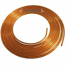 Brake Pipe Tube Copper for making Brake & Hydraulic Clutch Lines 7.62m Coil FL