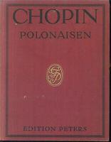 FR. CHOPIN - POLONAISEN - alte Noten, gebunden