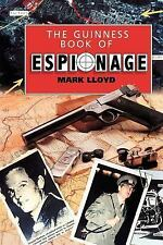 The Guinness Book of Espionage by Mark Lloyd (1994, Paperback, Reprint)