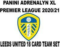 Panini Premier League 2020/21 Adrenalyn XL LEEDS UNITED 18 Card Team set