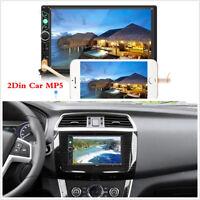 "2Din Car MP5 Radio 7""HD Screen Audio Stereo Bluetooth Video Multimedia Player"