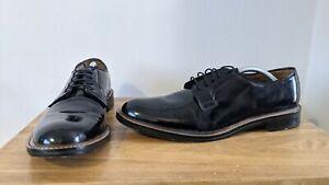 Jones Bootmaker - Noisy - Black Leather Derby Dress Shoe - UK Size 10
