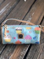 Dooney & Bourke Blue Cupcake Purse Barrel Bag Handbag Dessert Small Kitschy NWOT