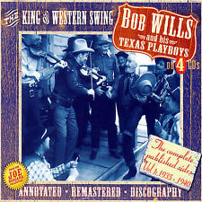 Bob Wills And His Texas Playboys: King Of Western Swing~Vol.1~BRAND NEW 4 CD SET
