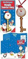 Father Christmas Magic Santa Claus Front Door Key - with Xmas Poem  No Chimney ?