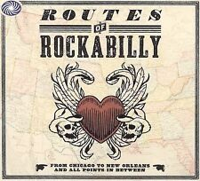 Routes of Rockabilly by Various Artists (CD BOX SET, Sep-2009, 3 Discs) SEALED!