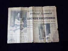 Vintage Southeast  Economist  (Southeast Chicago) Newspaper, Dec, 28, 1944