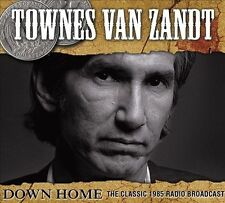 TOWNES VAN ZANDT - DOWN HOME MUSIC: LIVE AT THE DOWN HOME, JOHNSON CITY, TN, APR