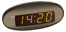 Numérique Réveil LIDO illuminé écran LCD ORANGE TFA 60.2005 Light