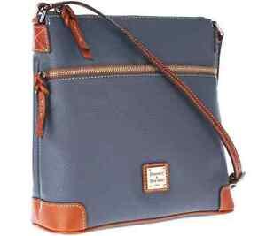 Dooney & Bourke Pebble Leather Crossbody - Graphite 9137