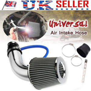 3'' Universal Car Turbo Cold Air Intake Induction Hose Pipe Kit System Filter UK