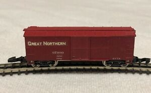 Great Northern 40' Wood Sheathed Freight Car Z-Scale (Nelson Gray/Early MTL)