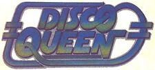 Original Vintage Disco Queen Iron On Transfer