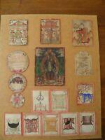 composition des Peinture et Thangka Tsakli du TIBET