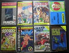 ZX Spectrum: Lot of 8 games on Cassette: Kendo Warrior/Hercules/BMX Racers a.o.