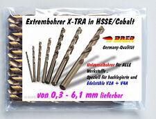 HSSCO Spiralbohrer Extrem-Bohrer Edelstahlbohrer  Metallbohrer  Stahlbohrer