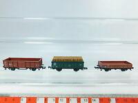 AV320-0,5# 3x Trix/Minitrix Spur N/DC Güterwagen: 508 5 383-9 DB etc, NEUW