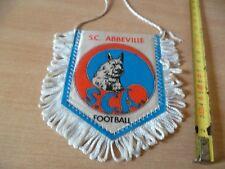 (B38) PETIT FANION DE FOOTBALL    ABBEVILLE