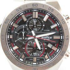 Mens Casio Edifice wrist watch chronograph date stainless steel quartz EFR-564