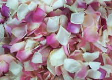 Freeze Dried Rose Petals. 50 cups Mix pinks for a Lovely wedding decoration!
