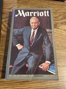 Marriott, The J Willard Mariott Storry, Robert O'Brien 1987 Deseret Paperback