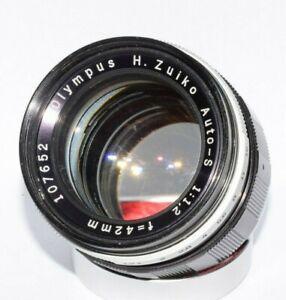 Lens Olympus Zuiko 1.2/42mm for Camera Olympus Pen  F