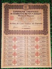 Nouvelles Hebrides & Paris IX ème - Action d'une Cie Coloniale Française - 1928