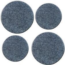 Range Stove Cooktop Electric Stove Burner Covers, Set Of 4, Black Granite