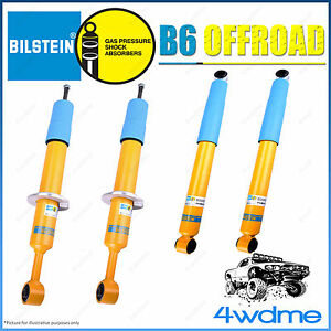 Isuzu Dmax 4WD Bilstein B6 Offroad Monotube Front and Rear Shock Absorbers