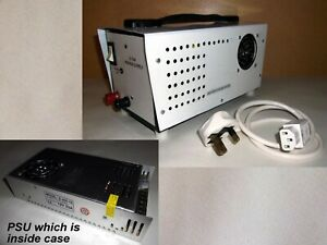 12 volt Switch Mode Power Supply Unit … 33 amp / 400 watt fitted in metal case.