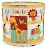 Kids Nursery BRIGHT Jungle Animal Zoo Pets Lampshade Ceiling pendant /Table Lamp
