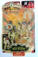 2008 bandai Power Rangers Jungle Fury Beast Morphin Purple Wolf Ranger brand new