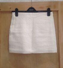 Zara Party Patternless Regular Size Skirts for Women