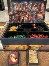 Risk Lord of the Rings Trilogy Edition 2003 Board Game - No Manual or Gold Ring
