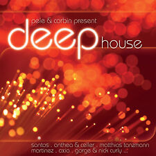 CD DEEP HOUSE Presented by Pele and Corbin d'Artistes Divers 2CDs