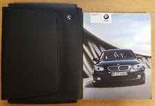 BMW 5 SERIES SALOON E60 TOURING E61 HANDBOOK MANUAL  2007-2010 PACK B-439