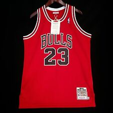 100% Authentic Michael Jordan Mitchell Ness Bulls 88 89 The Shot Jersey 44 L USA