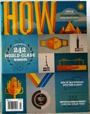 HOW Magazine 2013 INTERNATIONAL DESIGN Awards ANNUAL 242 WORLD-CLASS WINNERS $15
