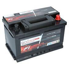 AUTOBATTERIE 75Ah F1 DiVine Energy +30% mehr Startleistung Starterbatterie