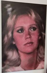 Agnetha Fältskog ABBA Canvas Art Print 60cm x 40cm Wall Art Portrait Music Icon
