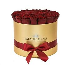 Valentines Day Roses - Real Roses That Last A Year - Preserved Flower Box Gift