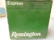 VINTAGE Remington Express 20GA.shot gun  SHELL BOX -- EMPTY