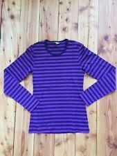 17laop2 Offiziell Isle Of Man Tt Logo Gestreift Damen T-Shirt