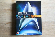 Star Trek - Motion Picture Trilogy (2009, 3-Disc Set) - FREE UK 1ST CLASS P&P