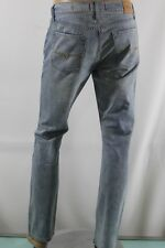 NEW GUESS MENS JEAN 100%AUTHENTIC SLIM STRAIGHT DEL MAR FIT SZ 32 inseam 32 BLUE