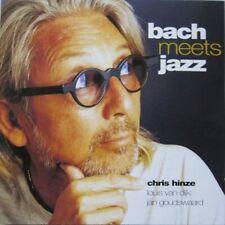 CHRIS HINZE / LOUIS VAN DIJK / JAN GOUDSWAARD - BACH MEETS JAZZ - CD