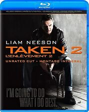 TAKEN 2 - UNRATED CUT & THEATRICAL *NEW BLU-RAY + DVD*
