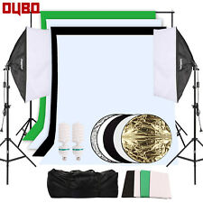 Hauser /& Picard 2x reflex paraguas plata Studio set lámpara paraguas 400w bolsa