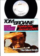 Tom Browne-funkin 'for Jamaica (des) - Her silent 7 INCH VINYL SINGLE HOLLAND