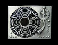 Turntable Belt Buckle DJ Vintage Record Players Music Belts & Buckles